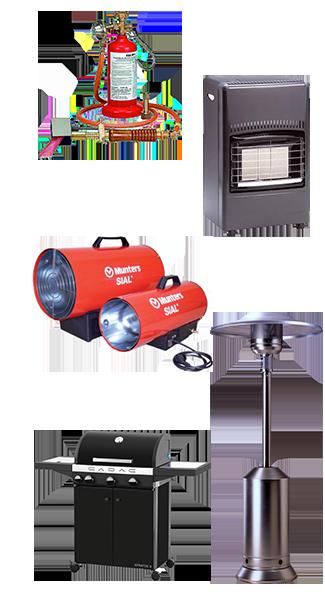 Gas Geräte
